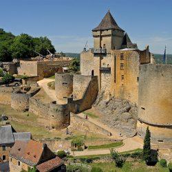chateau de castelnaud en dordogne