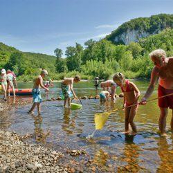 camping familial bord de rivière dordogne perigord