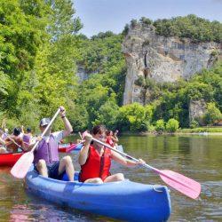 canoe camping vitrac