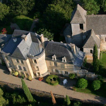 camping proche chateau de groléjac